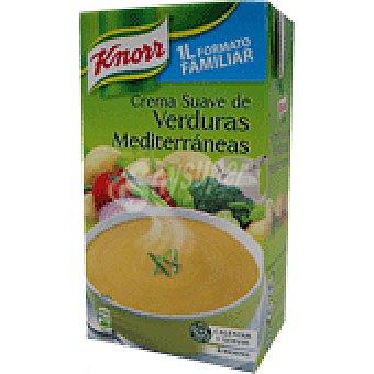 Knorr Crema de verduras mediterránea Brik 1 litro
