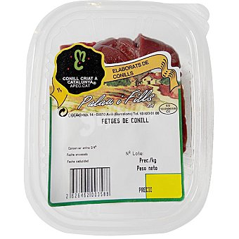 Palau Hígado de conejo peso aproximado bandeja 300 g Bandeja 300 g