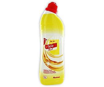 Auchan Gel WC lejía 4 en 1 1 litro
