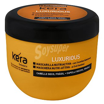 Les Cosmétiques Mascarilla elixir con 3 aceite fabulosos Luxurious - Kera Science 300 ml