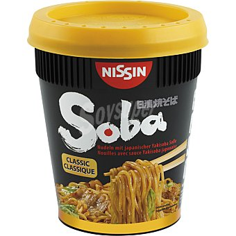 SOBA NISSIN Fideos Noodles Salsa Yakisoba Classic 90g