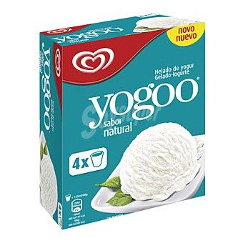 Frigo Helado de yogur natural Yogoo pack de 4x125 ml