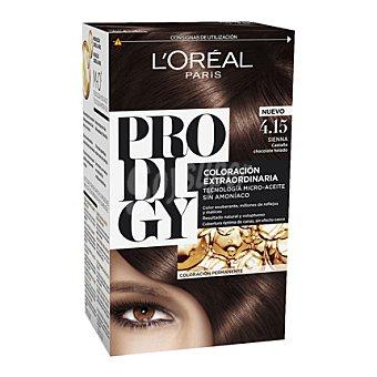 Prodigy L'Oréal Paris Tinte coloración extraordinaria nº 4.15 Sienna Castaño Chocolate Helado 1 ud