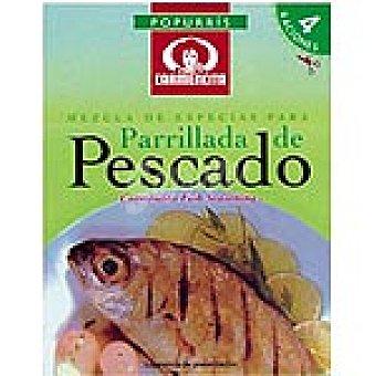 Carmencita Popurrí mezcla de especias para pescado parrilla Sobre 7 g