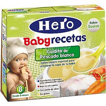 Hero Baby Caldito de pescado Recetas Estuche 500 g