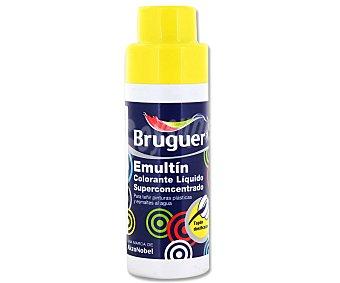BRUGUER Colorante líquido superconcentrado Emultin, de color amarillo limón 0,5 litros
