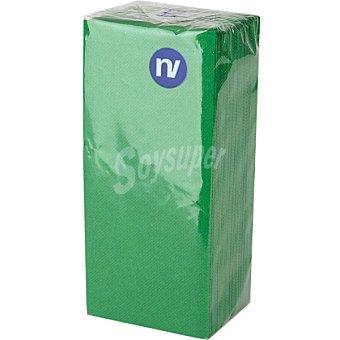 NV CORPORACION Servilletas color verde 38x33 cm Paquete 20 unidades