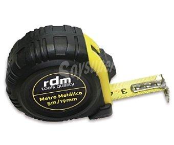 RDM Flexómetro Metálico Antichoque con Bloqueo, 5 Metros 1u
