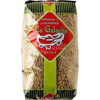 LA GALOCHA Lenteja verde Lanzarote  paquete 1 kg