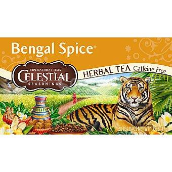 Celestial Seasonings té descafeinado Bengal Spice Envase 20 unidades