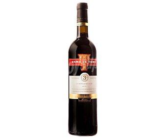 Dama de toro Vino tinto joven con denominación de origen Toro botella de 75 centilitros