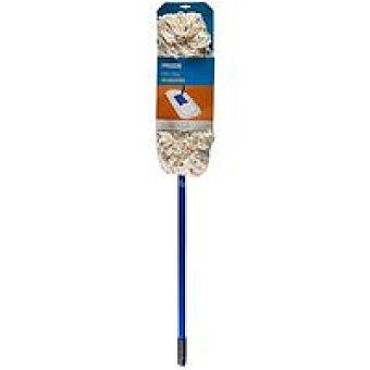 Eroski Mopa con palo 130 cm de algodón Pack 1 unid