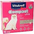 Arena para gatos ultra compact caja 4 Kg Caja 4 kg Vitakraft