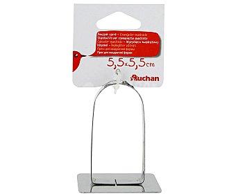 Auchan Empujador cuadrado de 5,5x5,5 centímetros 1 Unidad