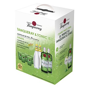 Tanqueray Pack Ginebra & tónica 1 ud