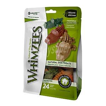 Whimzees Snacks para perros pequeños Whimzees cocodrilo dental 24 unidades