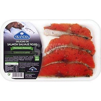 Skandia Delicias de salmon salvaje rojo bandeja 150 g Bandeja 150 g