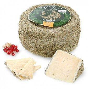 Vegasotuelamos Queso curado de oveja al romero y manteca al corte 150 g aprox Envase de 150.0 g. aprox