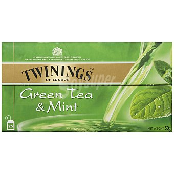 Twinings Té verde menta 25 ud