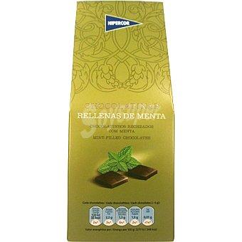 Hipercor Chocolatinas rellenas de menta Estuche 200 g