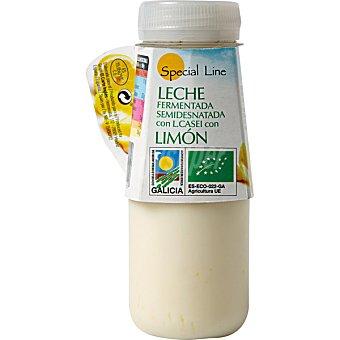 Special Line leche fermentada semidesnatada con L Casei con limón ecológica envase 165 g