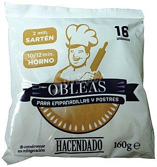 HACENDADO EMPANADILLA PASTA REFRIGERADA PAQUETE 160 g