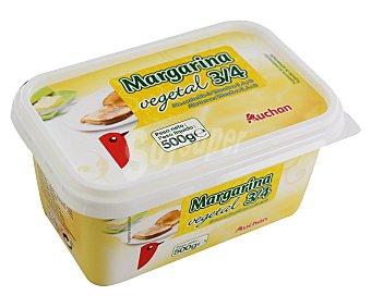 Auchan Margarina vegetal Tarrina de 500 gr