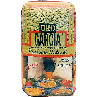 García Lenteja castellana Oro extra bolsa 500 g Bolsa 500 g