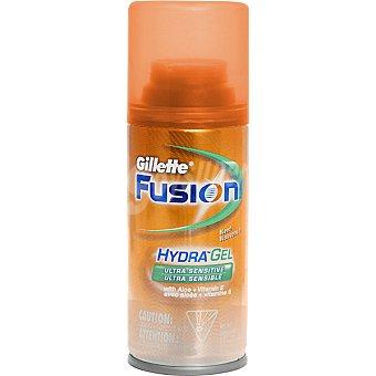 GILLETTE FUSION gel de afeitar Hidra Gel ultra sensible spray 75 ml Spray 75 ml