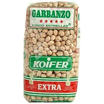 Koifer Garbanzos extra 5 Estrellas Paquete 500 g