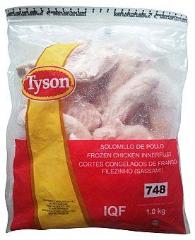 TYSON Pollo solomillos congelados Paquete 1 kg