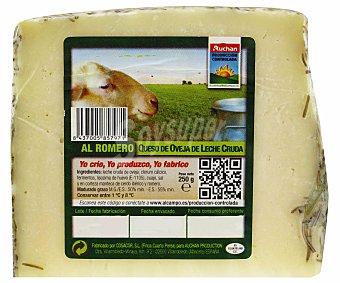 Auchan Producción Controlada Q.oveja al Romero 250g