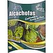 Alcachofas confitadas en aceite de oliva Envase 290 g Arotz