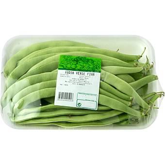 Judía verde fina bandeja 750 g peso aprox.