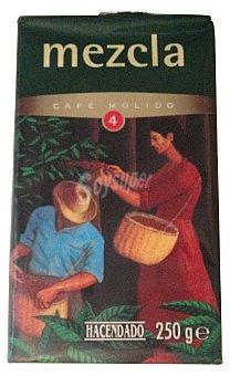 Hacendado Cafe molido mezcla Nº 4 Paquete 250 g