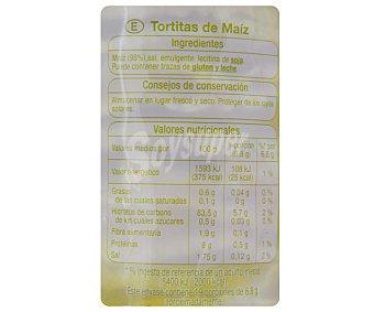 Auchan Tortitas de maíz 130 gramos