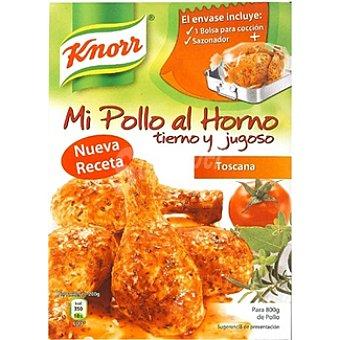 Knorr Sazonador para pollo a la Toscana Mi Pollo al Horno Envase 33 g