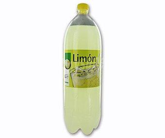 Productos Económicos Alcampo Refresco de limón (bebida refrescante aromatizada con azúcares y edulcorantes) Botella de 2 litros