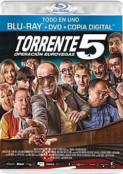 Warner Torrente 5 dvd+br+cd Torrente 5 dvd+br+cd 1 ud.