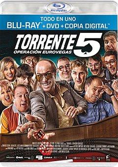 Warner Torrente 5 dvd+br+cd Torrente 5 dvd+br+cd 1 ud.