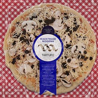 Maestro modena Tartufo Premium familiar pizza de trufa y champiñón  envase 530 g