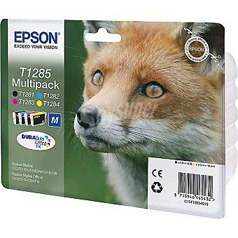 EPSON Stylus T1285 Cartucho de tinta multipack cuatricolor