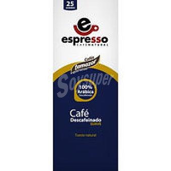 TAMAZOR Café descafeinado natural suave Paquete 175 g