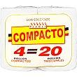 Papel higienico compacto Paquete 4 rollos Tivoli