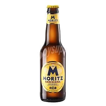 Moritz Cerveza rubia Botella 33 cl