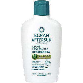 Ecran Aftersun Leche hidratante reparadora con Aloe Vera natural frasco 200 ml
