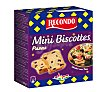 Mini biscottes con pasas Caja 100 g Recondo