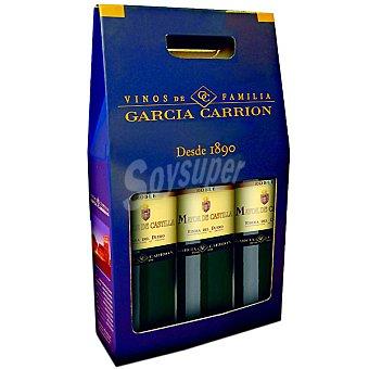 Mayor de Castilla Vino tinto joven roble D.O. Ribera del Duero estuche de cartón 3 botellas 75 cl