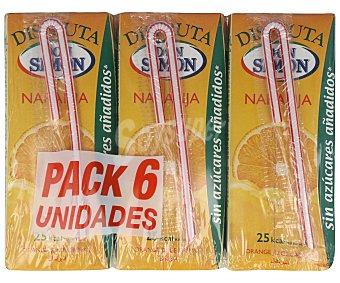 Don Simón Néctar de naranja sin azúcar Pack 6 x 20 cl