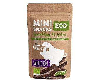 Luis gil Mini snacks de salchichón ecológico 40 g
